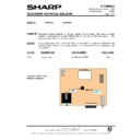 Sharp 37DT-25H (serv.man30) Technical Bulletin