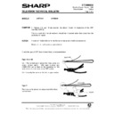 Sharp 37DT-25H (serv.man31) Technical Bulletin