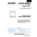 Sharp 37GT-27H (serv.man2) Service Manual