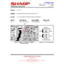 Sharp 37GT-27H (serv.man20) Technical Bulletin