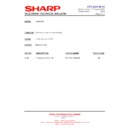 Sharp 51AT-15H (serv.man10) Technical Bulletin