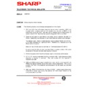 Sharp 51AT-15H (serv.man11) Technical Bulletin