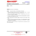 Sharp 51AT-15H (serv.man12) Technical Bulletin