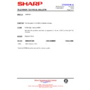 Sharp 51AT-15H (serv.man14) Technical Bulletin