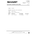 Sharp 51AT-15H (serv.man17) Technical Bulletin