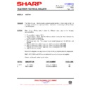 Sharp 51AT-15H (serv.man23) Technical Bulletin