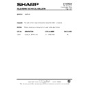 Sharp 51AT-15H (serv.man28) Technical Bulletin