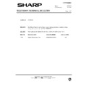 Sharp 51AT-15H (serv.man29) Technical Bulletin