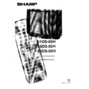 Sharp 59DS-05H (serv.man20) User Guide / Operation Manual