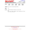 Sharp 59DS-05H (serv.man21) Technical Bulletin