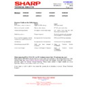 Sharp 59DS-05H (serv.man22) Technical Bulletin