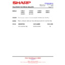 Sharp 59DS-05H (serv.man24) Technical Bulletin