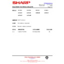 Sharp 59DS-05H (serv.man25) Technical Bulletin