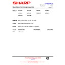 Sharp 59DS-05H (serv.man26) Technical Bulletin