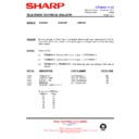 Sharp 59DS-05H (serv.man27) Technical Bulletin