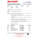 Sharp 59DS-05H (serv.man28) Technical Bulletin