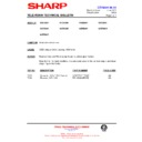 Sharp 59DS-05H (serv.man29) Technical Bulletin