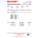 Sharp 59DS-05H (serv.man30) Technical Bulletin