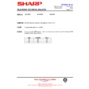 Sharp 59DS-05H (serv.man31) Technical Bulletin