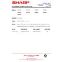 Sharp 59DS-05H (serv.man32) Technical Bulletin