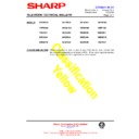 Sharp 59DS-05H (serv.man34) Technical Bulletin