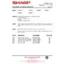 Sharp 59DS-05H (serv.man35) Technical Bulletin