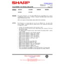 Sharp 59DS-05H (serv.man36) Technical Bulletin