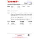 Sharp 59DS-05H (serv.man38) Technical Bulletin