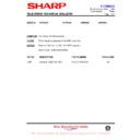 Sharp 59DS-05H (serv.man47) Technical Bulletin