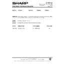 Sharp 59DS-05H (serv.man48) Technical Bulletin