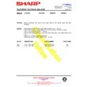 Sharp 59DS-05H (serv.man50) Technical Bulletin