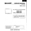 Sharp 59DS-05H (serv.man9) Service Manual