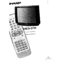 Sharp 59ES-D7H (serv.man19) User Guide / Operation Manual
