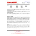 Sharp 59ES-D7H (serv.man24) Technical Bulletin