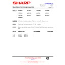 Sharp 59ES-D7H (serv.man31) Technical Bulletin