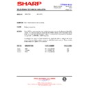 Sharp 59ES-D7H (serv.man36) Technical Bulletin