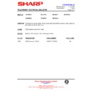 Sharp 59ES-D7H (serv.man39) Technical Bulletin