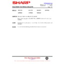Sharp 59ES-D7H (serv.man41) Technical Bulletin