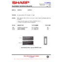 Sharp 59ES-D7H (serv.man43) Technical Bulletin