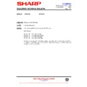 Sharp 59ES-D7H (serv.man44) Technical Bulletin