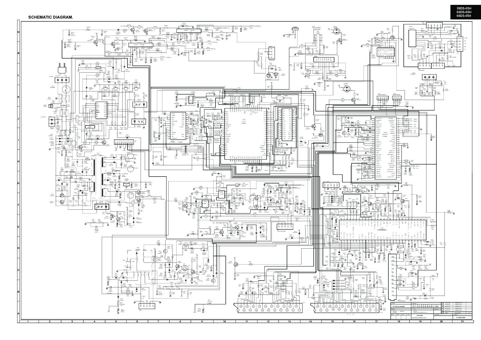 sharp 66ds-05h  serv man38  technical bulletin