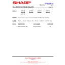 Sharp 66FW-54H (serv.man31) Technical Bulletin
