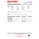 Sharp 66FW-54H (serv.man33) Technical Bulletin