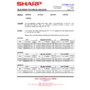 Sharp 66FW-54H (serv.man38) Technical Bulletin