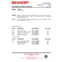 Sharp 66FW-54H (serv.man40) Technical Bulletin