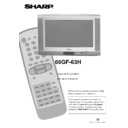 Sharp 66GF-63 (serv.man13) User Guide / Operation Manual