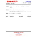 Sharp 66GF-63 (serv.man20) Technical Bulletin