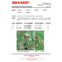 Sharp 66GF-63 (serv.man27) Technical Bulletin