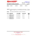 Sharp 66GF-63 (serv.man32) Technical Bulletin