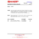 Sharp 66GF-63 (serv.man34) Technical Bulletin